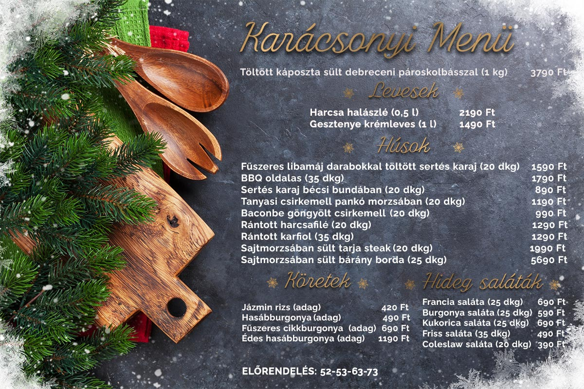 Karácsonyi ünnepi lista